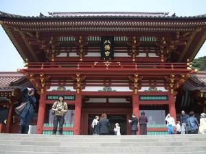 鶴岡八幡宮上宮社殿・回廊(国指定重要文化財)